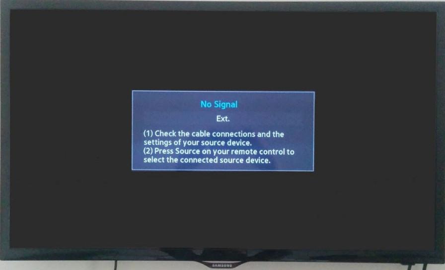 Windows 10 Displayport No Signal