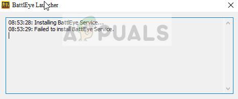 Fix: Failed to install BattlEye service - Appuals com