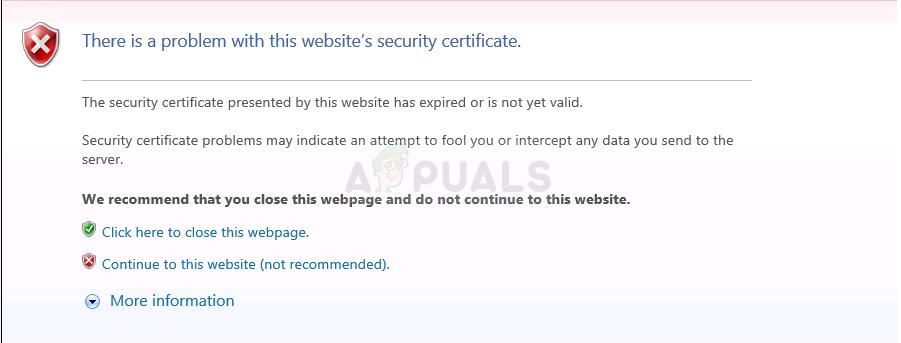 windows vm certificate navigation throw away error attach disk os blocked whs server secure appuals servethehome fix hyper