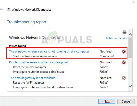 Fix: Windows Wireless Service is not running - Appuals com