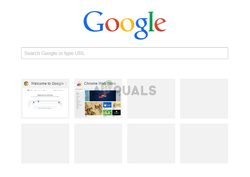 Fix: Google Chrome Most Visited Thumbnails Not Showing - Appuals.com