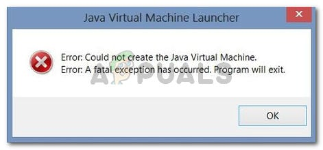 Fix: Could Not Create the Java Virtual Machine - Appuals.com