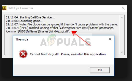 Fix: Cannot find 'dxdg dll' PUBG - Appuals com