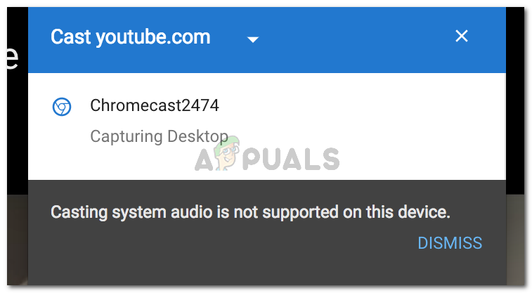 Fix: Casting System Audio is Not Supported on this Device