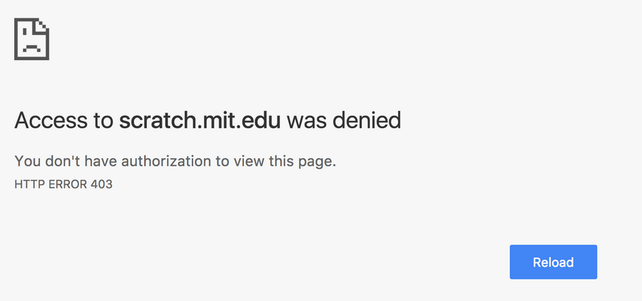 Fix: You Don't have Authorization to View this Page