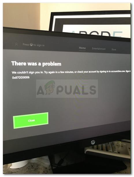 Fix: Xbox Sign in Error 0x87dd0006 - Appuals com