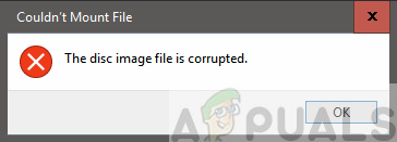 Fix: The Disc Image File is Corrupted on Windows 10 - Appuals.com