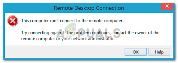 Fix: This Computer Can't Connect to the Remote Computer