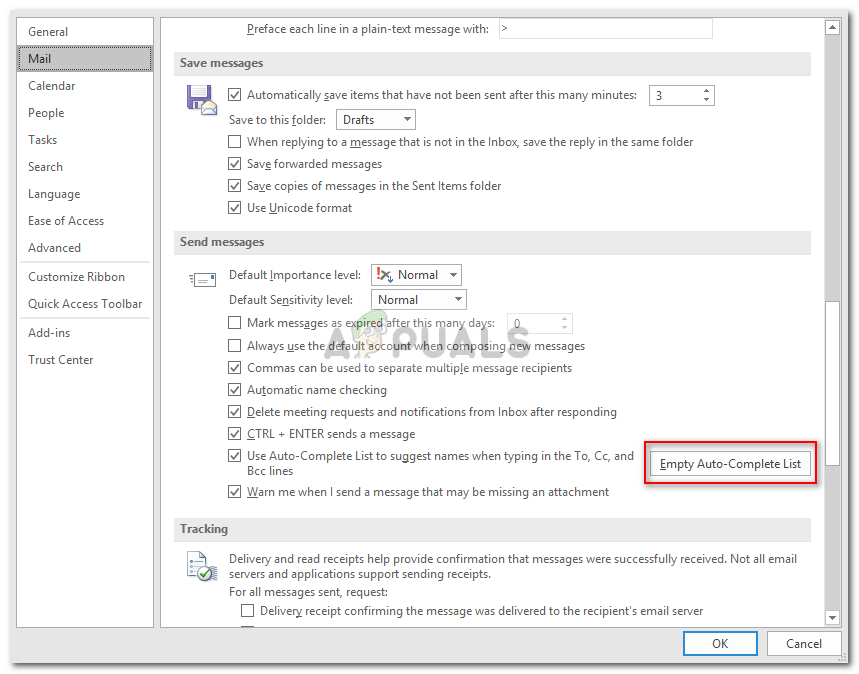 can be caused by several factors which include incorrect SMTP settings Fix: Sending Error 0x80040201 on Outlook