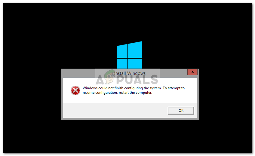 Fix: Windows Could not Finish Configuring the System - Appuals com
