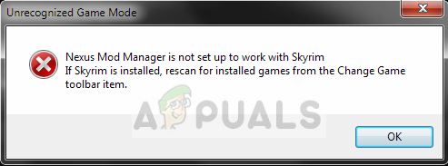 Fix: Nexus Mod Manager is Not Set up to Work with Skyrim
