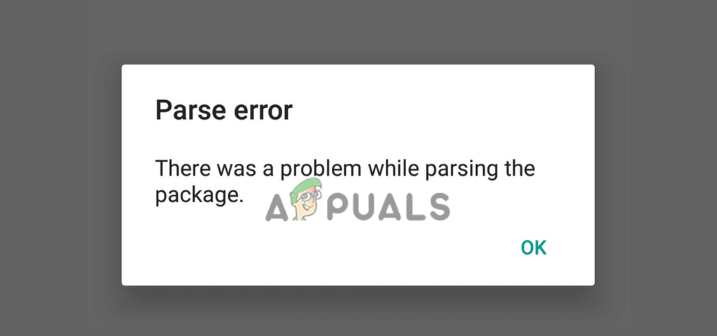 Fix: There was a Problem Parsing the Package - Appuals com