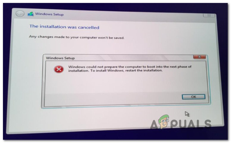 Windows could not prepare the computer to boot into the next phase of installation Fix: Windows Could Not Prepare the Computer to Boot Into the Next Phase of Installation