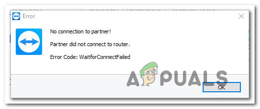 Fix: Partner Did not Connect to Router in TeamViewer