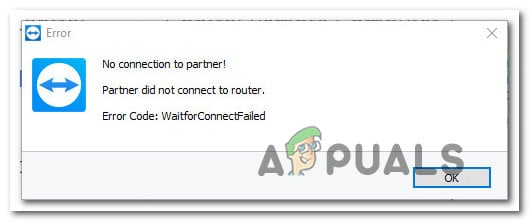 Fix: Partner Did not Connect to Router in TeamViewer - Appuals com