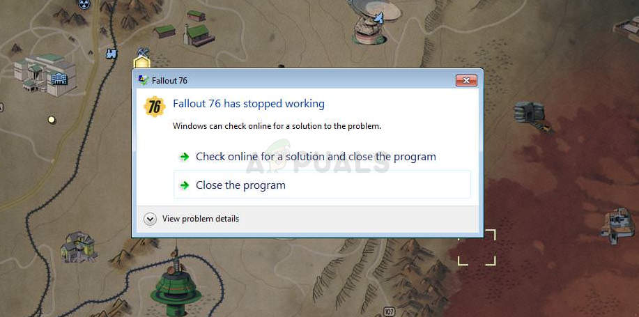 Fix: Fallout 76 Crashing - Appuals com