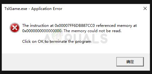 Fix: TslGame.exe Application Error in PUBG - Appuals.com