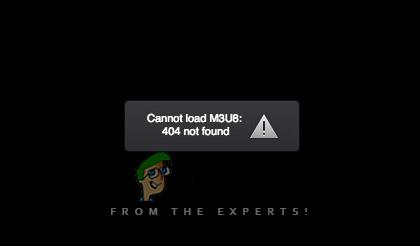 Fix: Cannot Load Video Error M3U8 - Appuals com