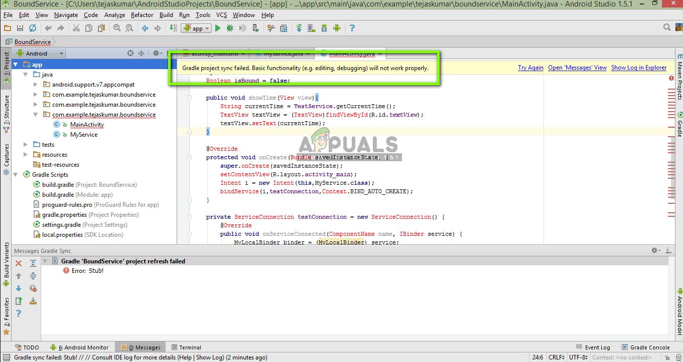 Fix: Gradle Project Sync Failed - Appuals com