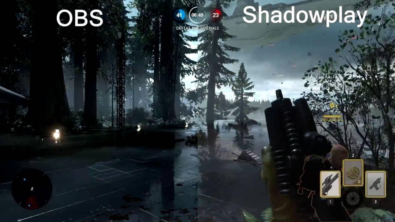 Shadowplay vs OBS - Appuals com