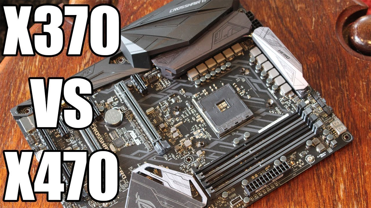 X470 VS X370: Which Chipset is better? - Appuals com