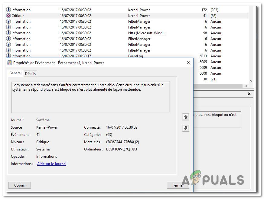 Fix: Power Kernel BSOD (70368744177664),(2) - Appuals com