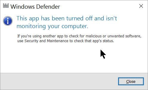 How to fix Windows Defender not Turning on - Appuals com