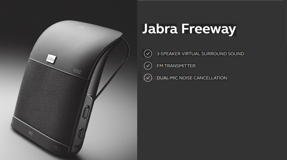 Jabra Freeway Bluetooth Car Speakerphone Review Appuals Com