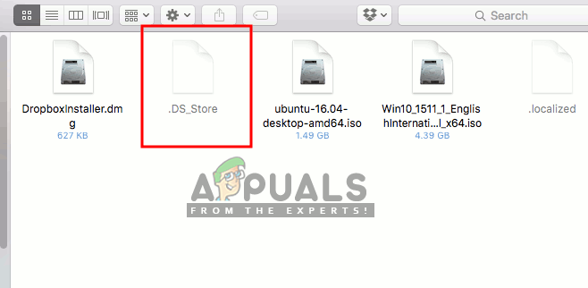 What is .DS_Store and How to remove it from your macOS - Appuals.com