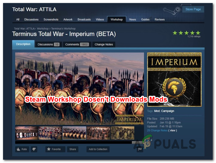 Fix: Steam Workshop not Downloading Mods - Appuals com