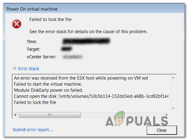 Fix: VMware Failed to Lock the File - Appuals com