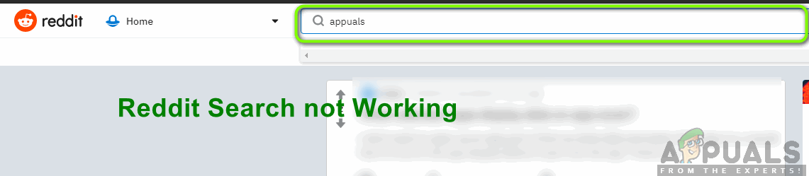 How to fix Reddit Search not Working - Appuals com