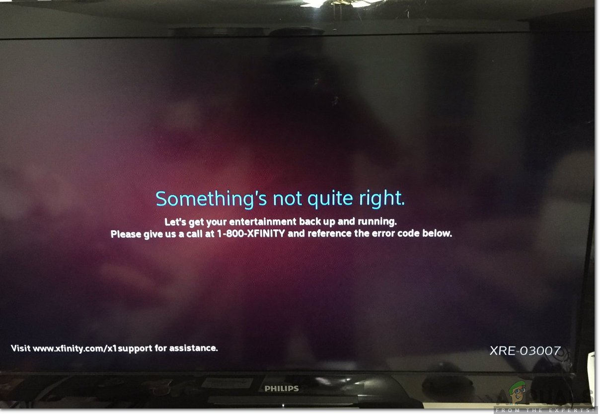 Xfinity is a subsidiary of Comcast Cable Communications which is one of the largest ISP in How to Fix 'Error Code XRE-03007' on Xfinity?