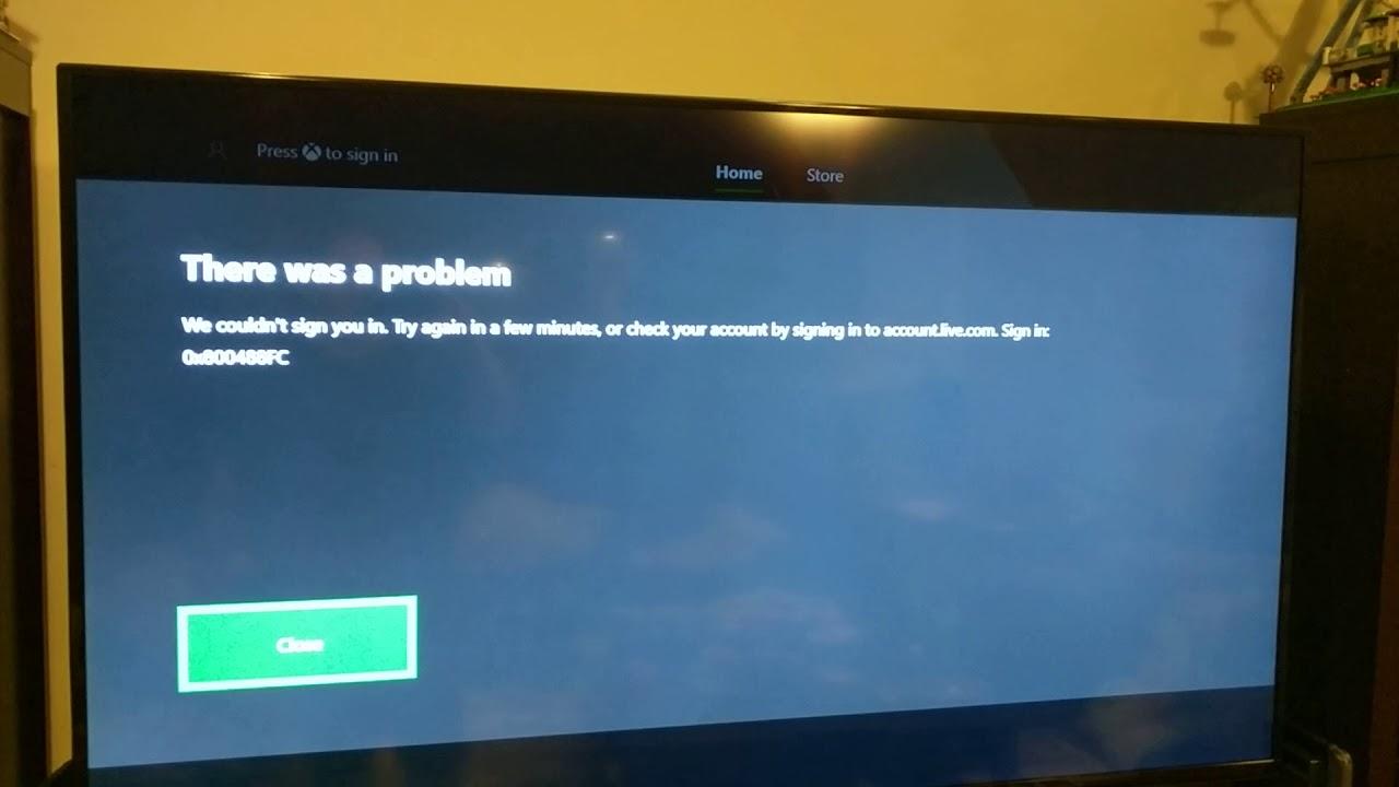 How to Fix 'Error Code 0x800488fc' on Xbox - Appuals com