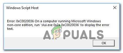 How to Fix Windows 10 Activation Error 0xc0020036 - Appuals com