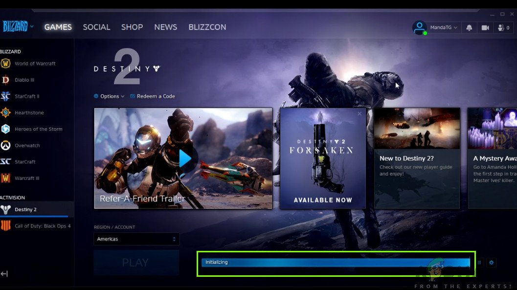 is an online multiplayer shooting game which is developed by Bungie How to Fix Destiny 2 Stuck on Initializing