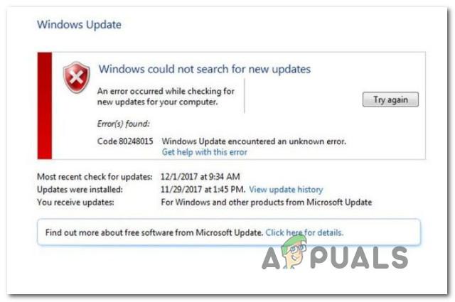 How to Fix Windows Update Error 80248015 - Appuals com
