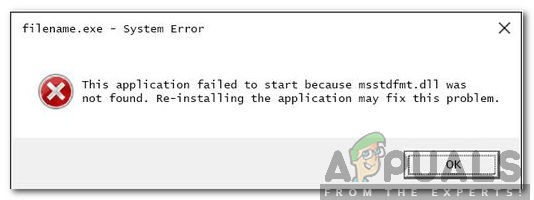 How to Fix 'msstdfmt dll' is Missing Error? - Appuals com