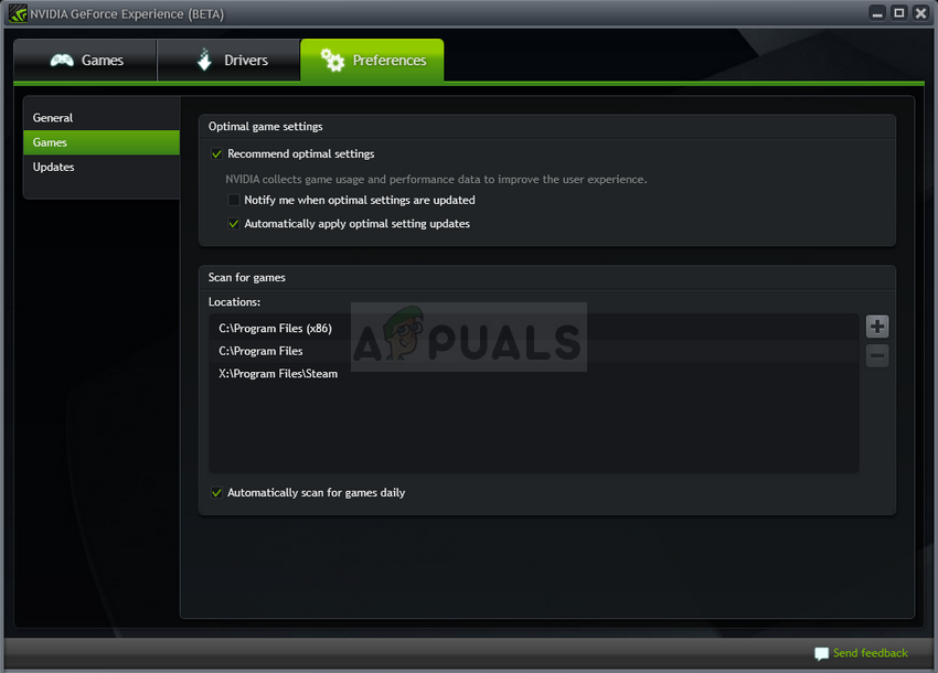 How to Fix GeForce Experience Scanning Failed Error on Windows