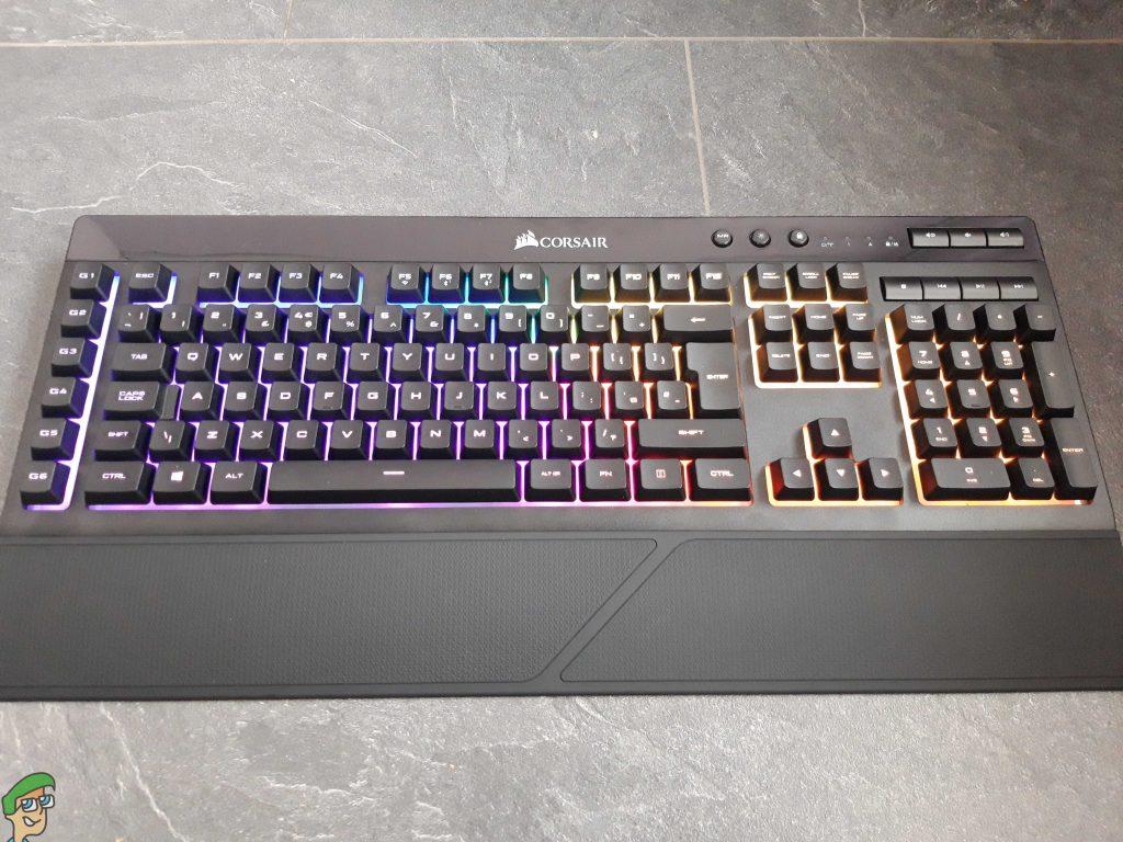 CORSAIR K57 RGB Wireless Gaming Keyboard Review - Appuals com