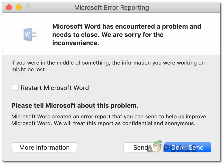 Microsoft Word For Mac Not Working After Update