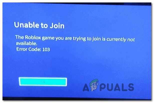 How To Fix Roblox Error Code 103 On Xbox One Appuals Com