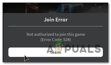 roblox error code 524 how to fix